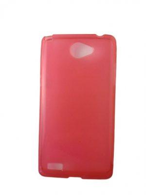 Силиконов калъф за LG Bello II / 2 розово-червен