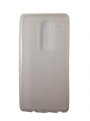 Силиконов калъф за LG Class / LG Zero бял прозрачен