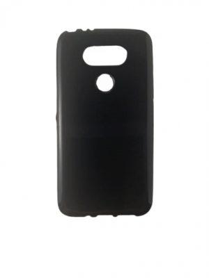 Силиконов калъф за LG G5 черен гланц