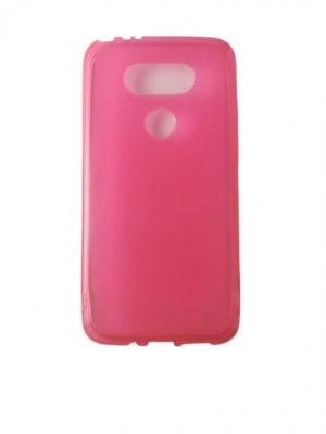 Силиконов калъф за LG G5 розов