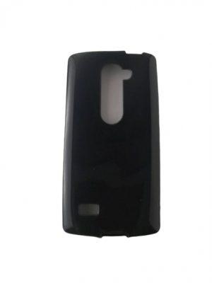 Силиконов калъф за LG Leon (C40, H340N) черен гланц