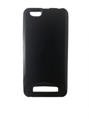 Силиконов калъф за Lenovo Vibe C (A2020) черен, гланц