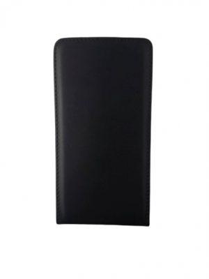 Кожен калъф тип тефтер за Lenovo Vibe P1 черен