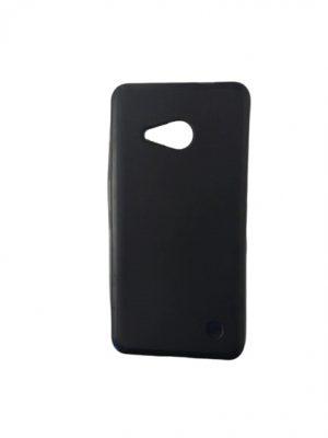 Силиконов калъф за Microsoft Lumia 550 черен