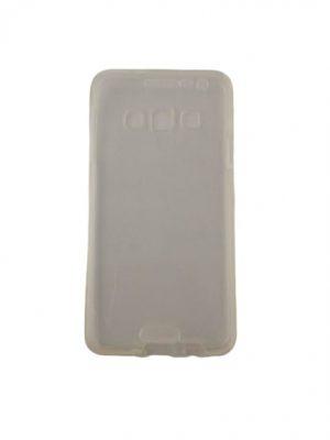 Двоен силиконов калъф за Samsung Galaxy A3 прозрачен 2