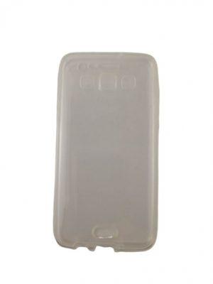 Двоен силиконов калъф за Samsung Galaxy A3 прозрачен 3