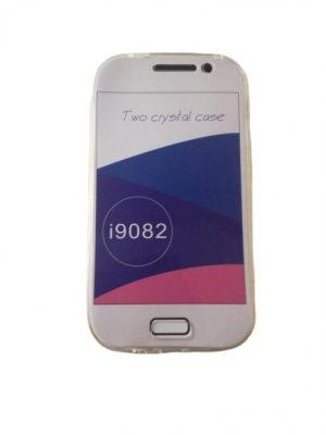 Двоен силиконов калъф за Samsung Galaxy Grand i9080/ i9082 прозрачен