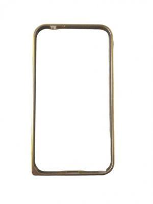 Алуминиев бъмпер за Samsung Galaxy Note 2 златист