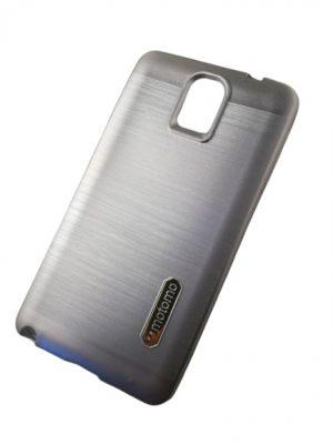 Силиконов калъф за Samsung Galaxy Note 3 сребрист 2