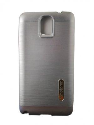 Силиконов калъф за Samsung Galaxy Note 3 сребрист