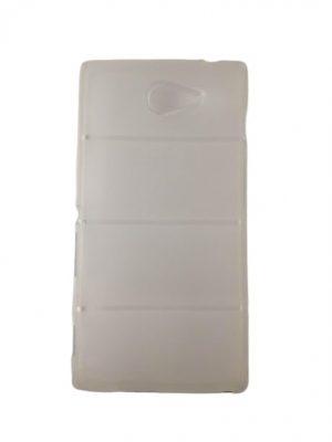Прозрачен силиконов калъф за Sony Xperia M2