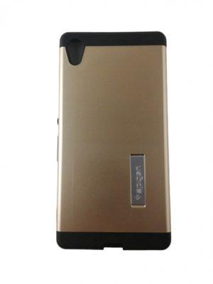 Твърд калъф гръб за Sony Xperia Z4 златист