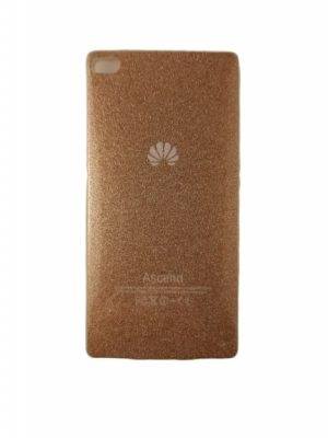 Силиконов калъф за Huawei P8 златист