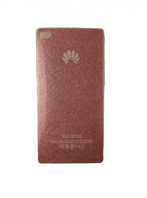 Силиконов калъф за Huawei P8 розов