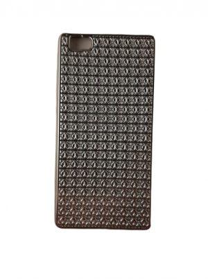 Силиконов калъф за Huawei P8 Lite сребрист