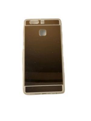 Силиконов калъф за Huawei P9 огледален златист цвят