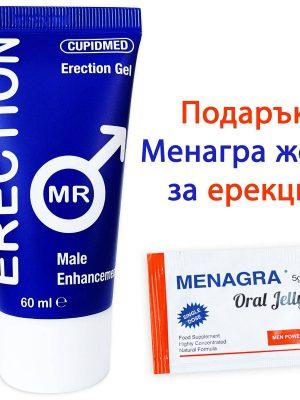 Mr. Erection гел за ерекция + Menagra Oral Jelly