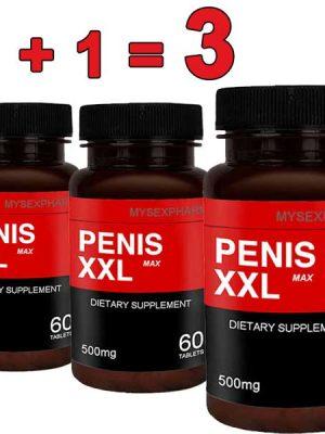 Penis XXL Max таблетки уголемяващи пениса